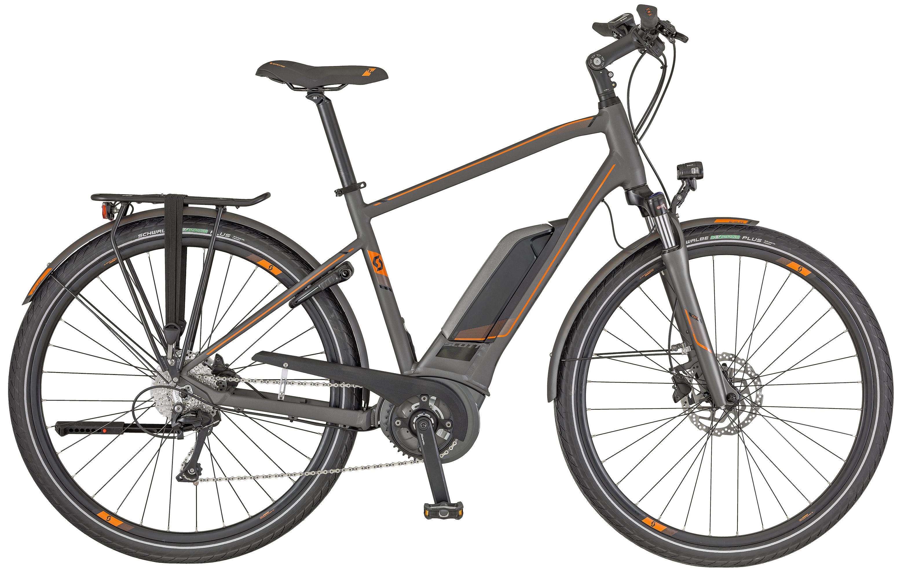 Scott E-Sub Tour Men, Modell 2018 - Bike-3, der Scott Fahrrad Spezial
