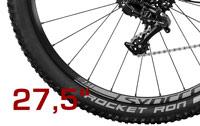 27,5er Wheels