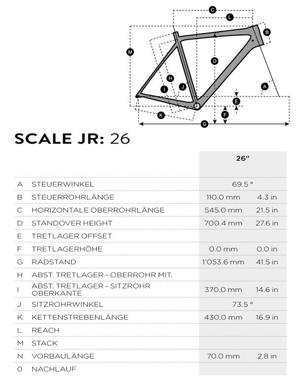 Geo Scale JR 26