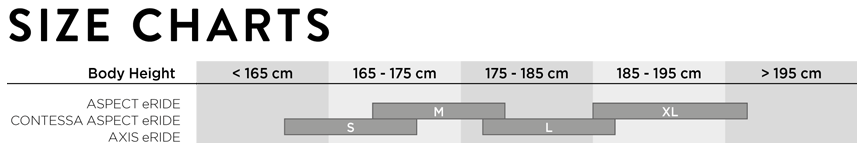 Welche Rahmengröße passt?